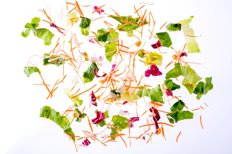 Geschnittener Salat